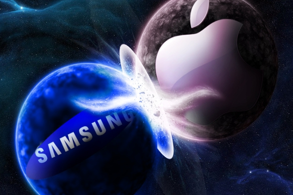Apple vs Samsung: choque de titanes
